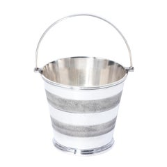 1930s English Silver Plate Ice Pail