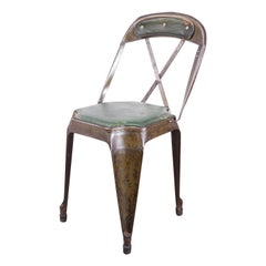 1930s Evertaut Cross Back Dining Chair