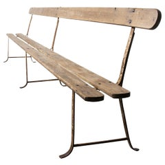 1930s Exceptionally Long Original French Monastery Bench, Four Metre 'Bench 2'