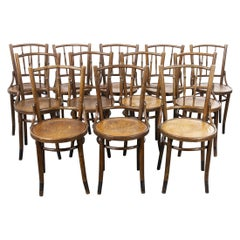 1930s Fischel French Bentwood Dining Chairs, Various Quantities Available
