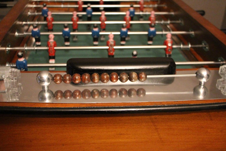 1930s French Cafe's Foosball Table 7