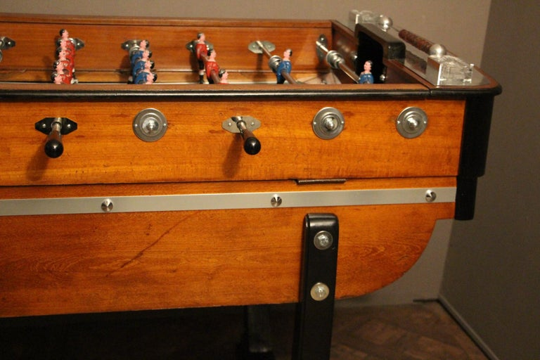 1930s French Cafe's Foosball Table 12