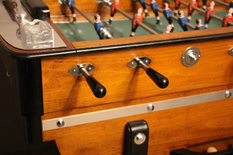 Art Deco 1930s French Cafe's Foosball Table