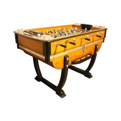 1930s French Cafe's Foosball Table