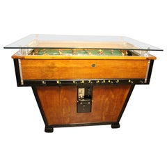 1930s French Foosball Table, Foosball Counter Table, Sportfoot Table
