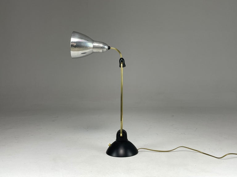 20th Century 1930's French Industrial Desk Lamp For Sale