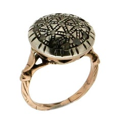 Gold Old Diamonds Ring