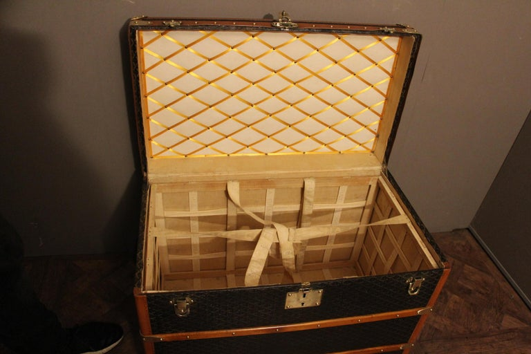 1930s Goyard Trunk, Goyard Steamer Trunk For Sale 8