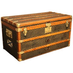 1930s Goyard Trunk, Goyard Steamer Trunk