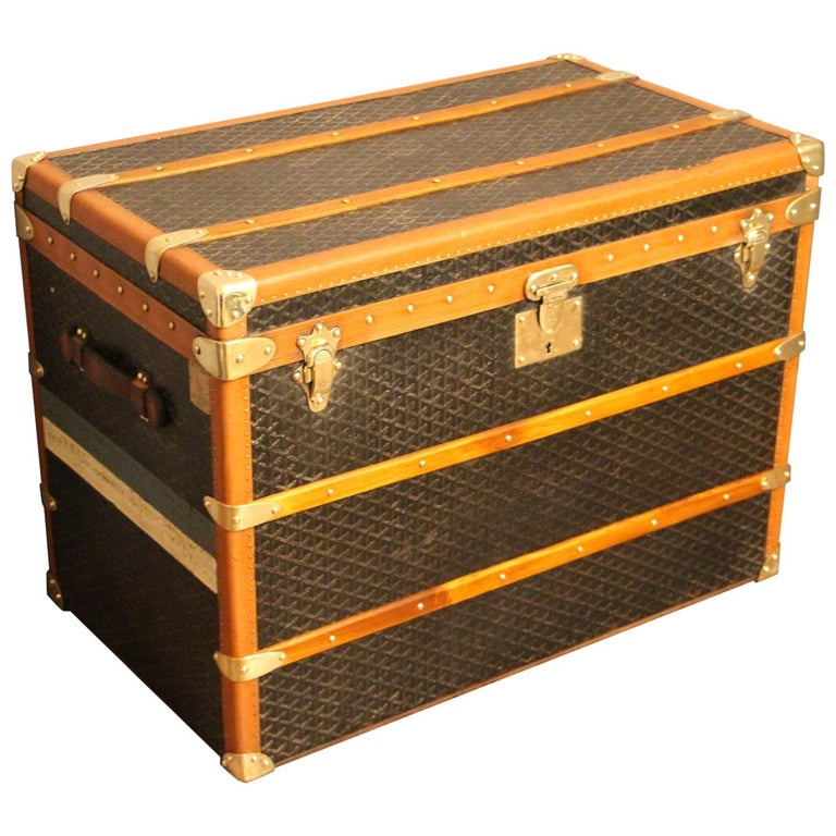 1930s Goyard Trunk, Goyard Steamer Trunk For Sale