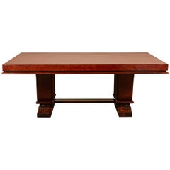 1930s Indo-Chinese Art Deco Dining Table