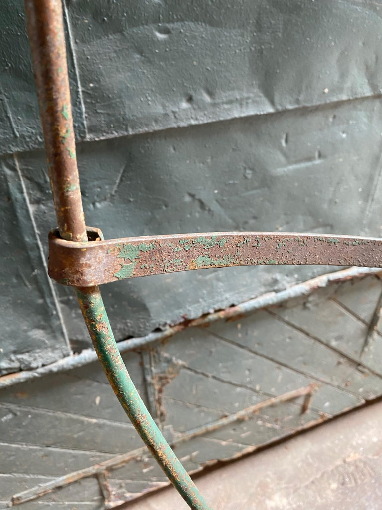 1930s Iron Hoop Tree Swing For Sale 6