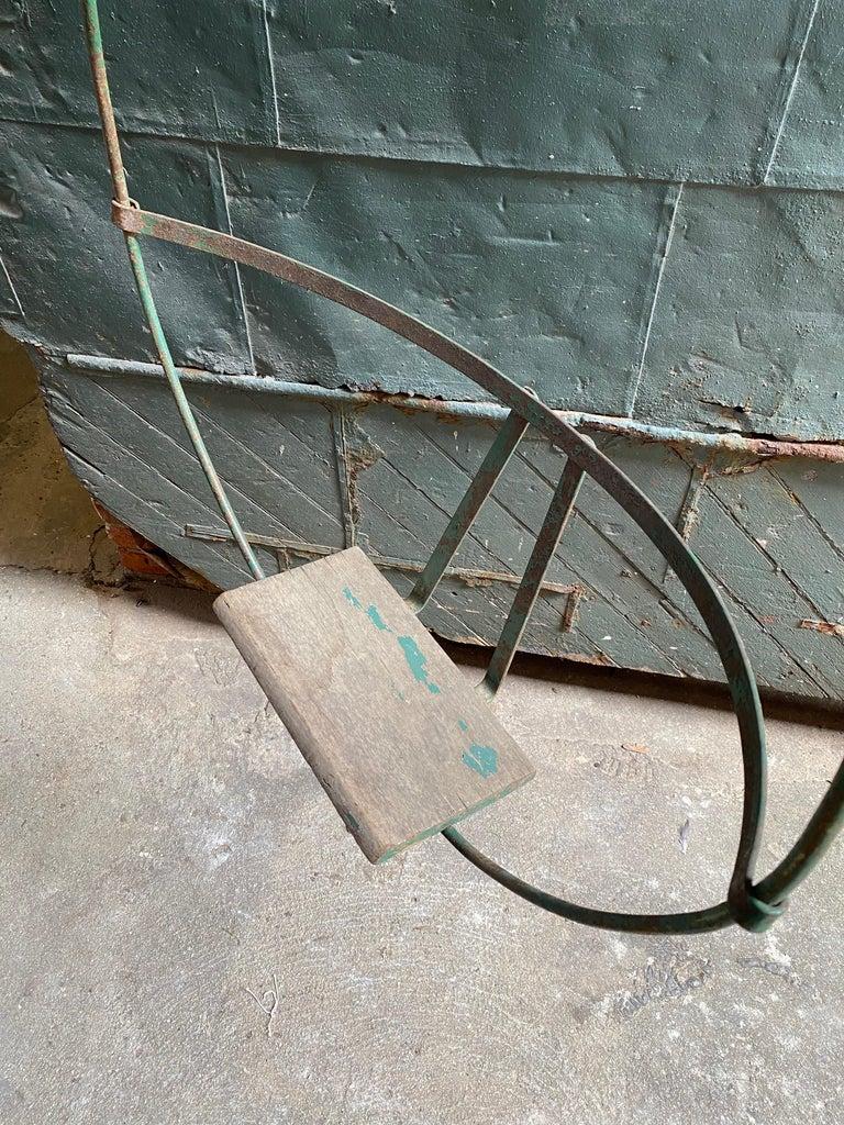 1930s Iron Hoop Tree Swing For Sale 2