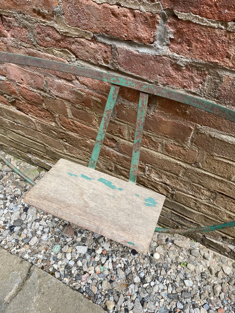 1930s Iron Hoop Tree Swing For Sale 3