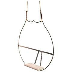 1930s Iron Hoop Tree Swing
