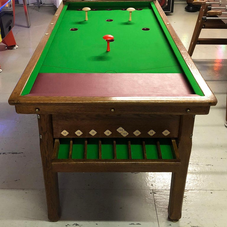 1930s Jelkes Bar Billiards Table For Sale 4