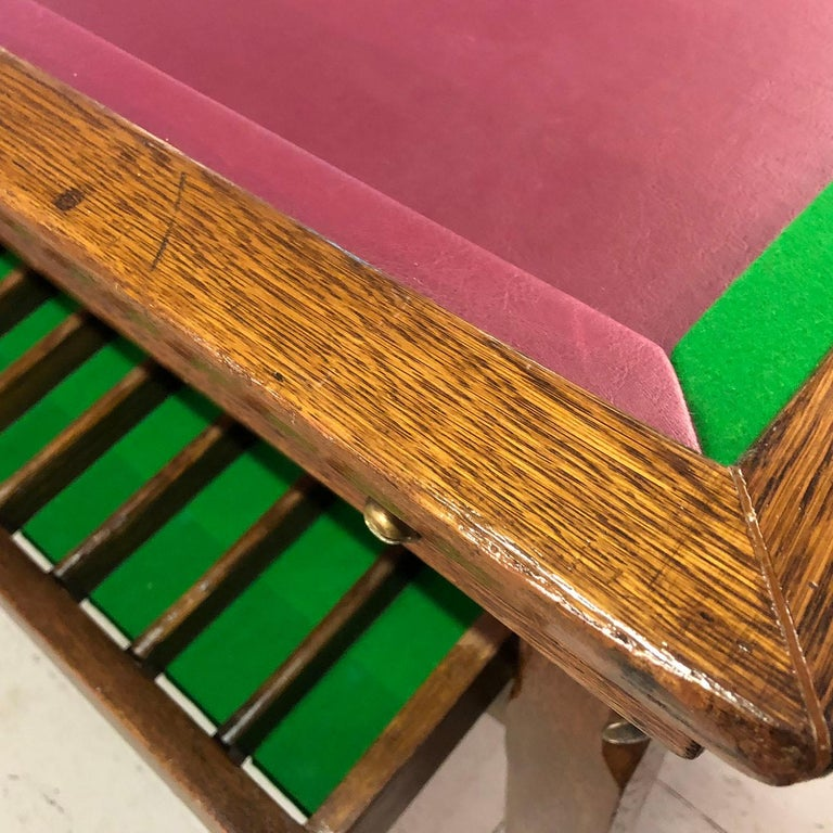 1930s Jelkes Bar Billiards Table For Sale 5
