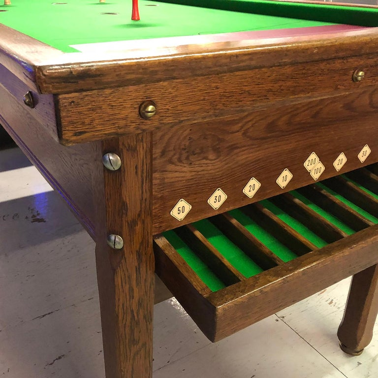 1930s Jelkes Bar Billiards Table For Sale 7