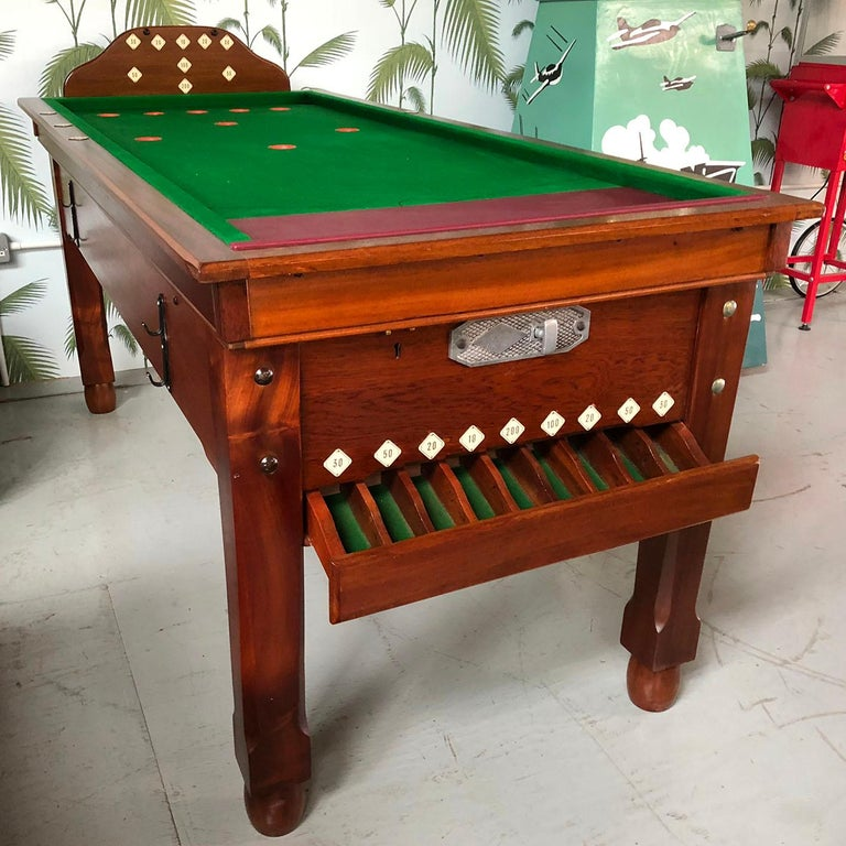 1930s Jelkes Bar Billiards Table For Sale 9