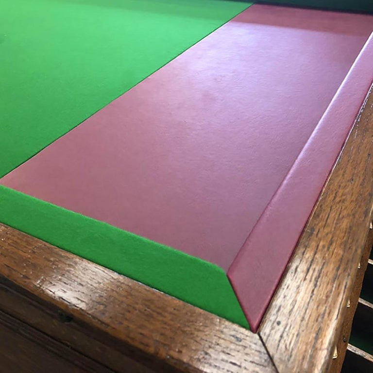 1930s Jelkes Bar Billiards Table In Good Condition For Sale In Weybridge, Surrey