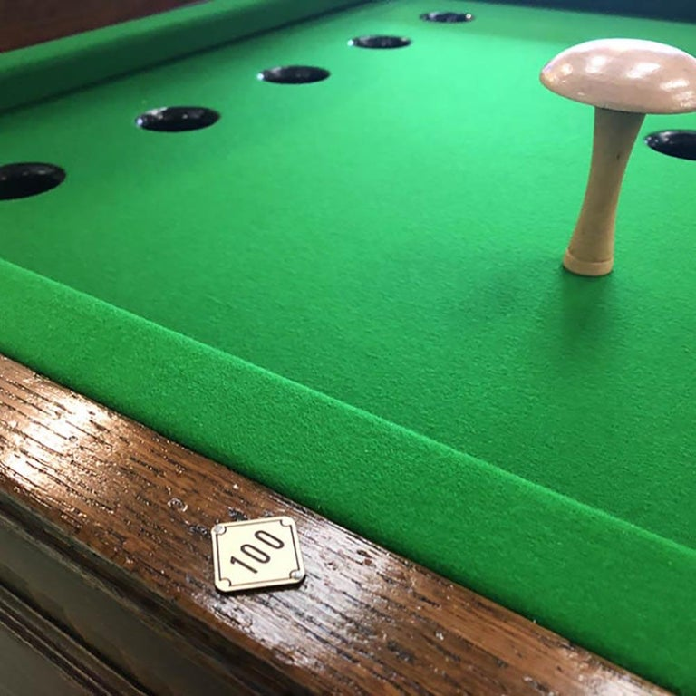 Mid-20th Century 1930s Jelkes Bar Billiards Table For Sale