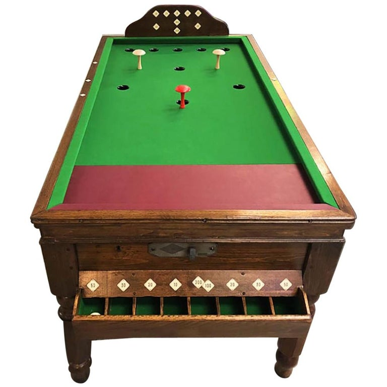 1930s Jelkes Bar Billiards Table For Sale