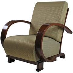 1930s Jindrich Halabala Art Deco Armchair