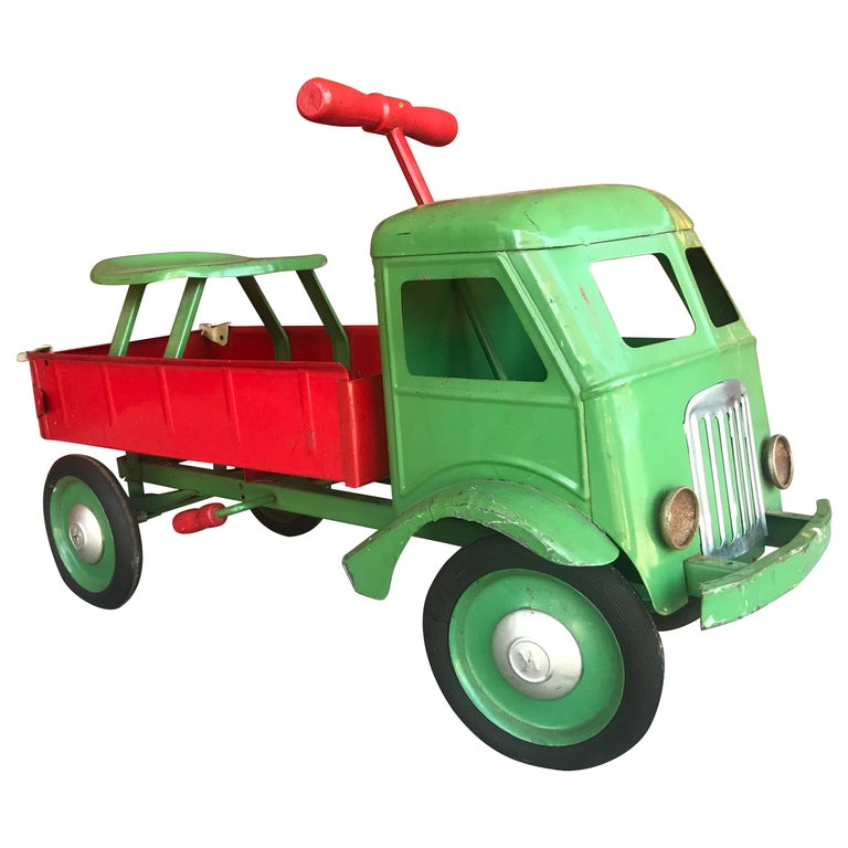 1930s Keystone Ride-Em Dump Truck,, Chairs Ride on Toy For Sale