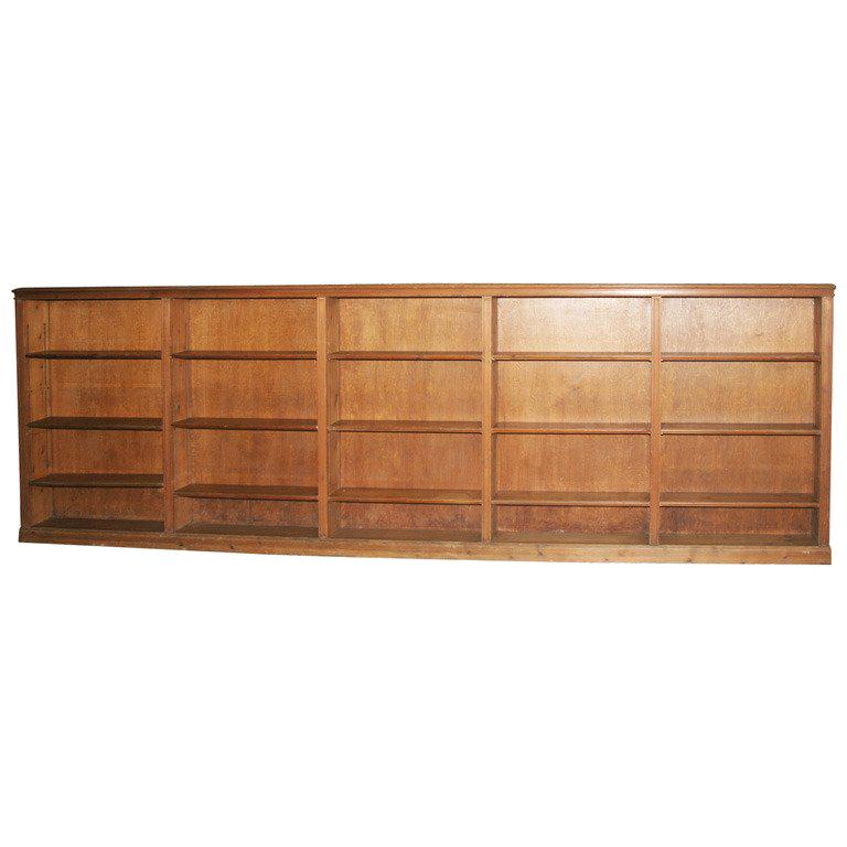 Knotty Pine Kitchen Cabinets For Sale: 1930s Knotty Pine Bookcase For Sale At 1stdibs