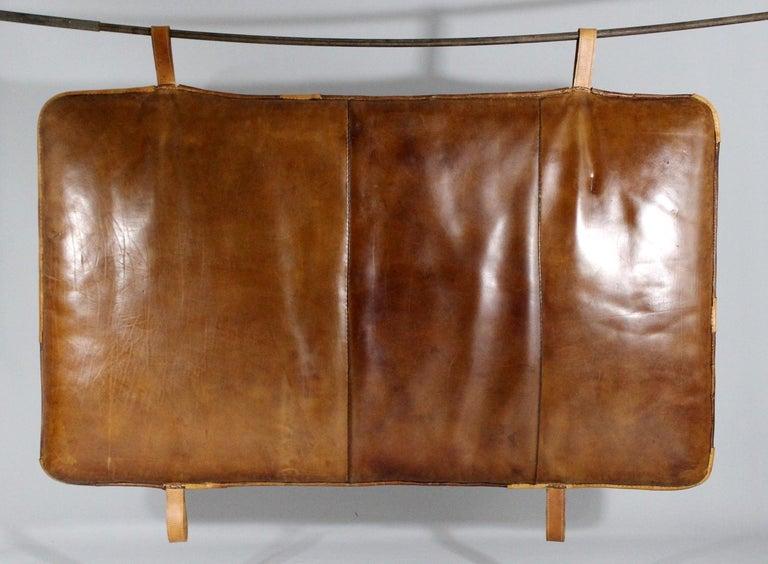 Mid-Century Modern 1930s Leather Gym Mat