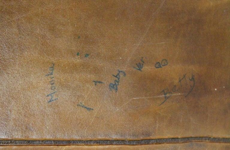 Czech 1930s Leather Gym Mat