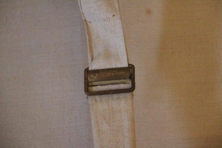 1930s Louis Vuitton Stenciled Monogram Cabin Steamer Trunk, Louis Vuitton Trunk For Sale 9