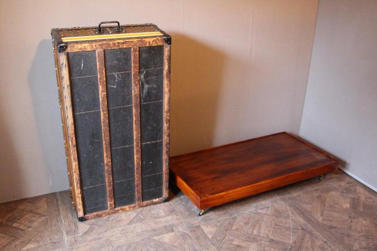 1930s Louis Vuitton Stenciled Monogram Cabin Steamer Trunk, Louis Vuitton Trunk For Sale 12
