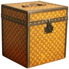 1930s Louis Vuitton Stenciled Monogram Hat Trunk, Louis Vuitton Trunk