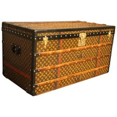 1930s Louis Vuitton Trunk in Monogram Canvas