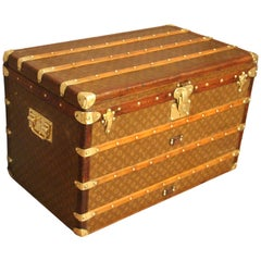 1930's Louis Vuitton Trunk, Louis Vuitton Courrier Steamer Trunk
