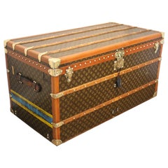 1930s Louis Vuitton Trunk, Louis Vuitton Steamer Trunk 1