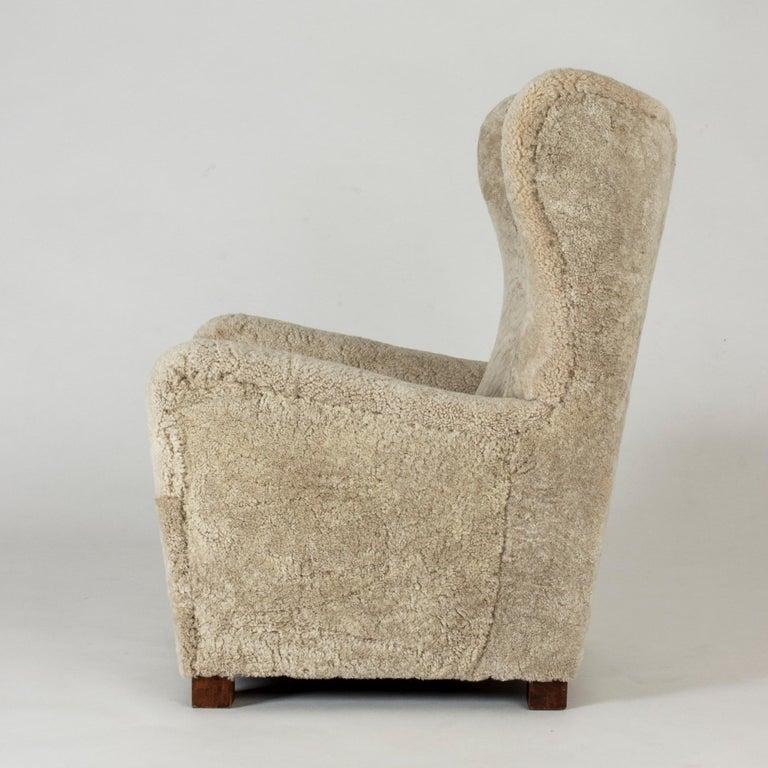 Scandinavian Modern 1930s Lounge Chair from Fritz Hansen For Sale