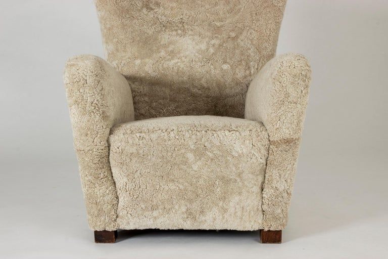 Mid-20th Century 1930s Lounge Chair from Fritz Hansen For Sale