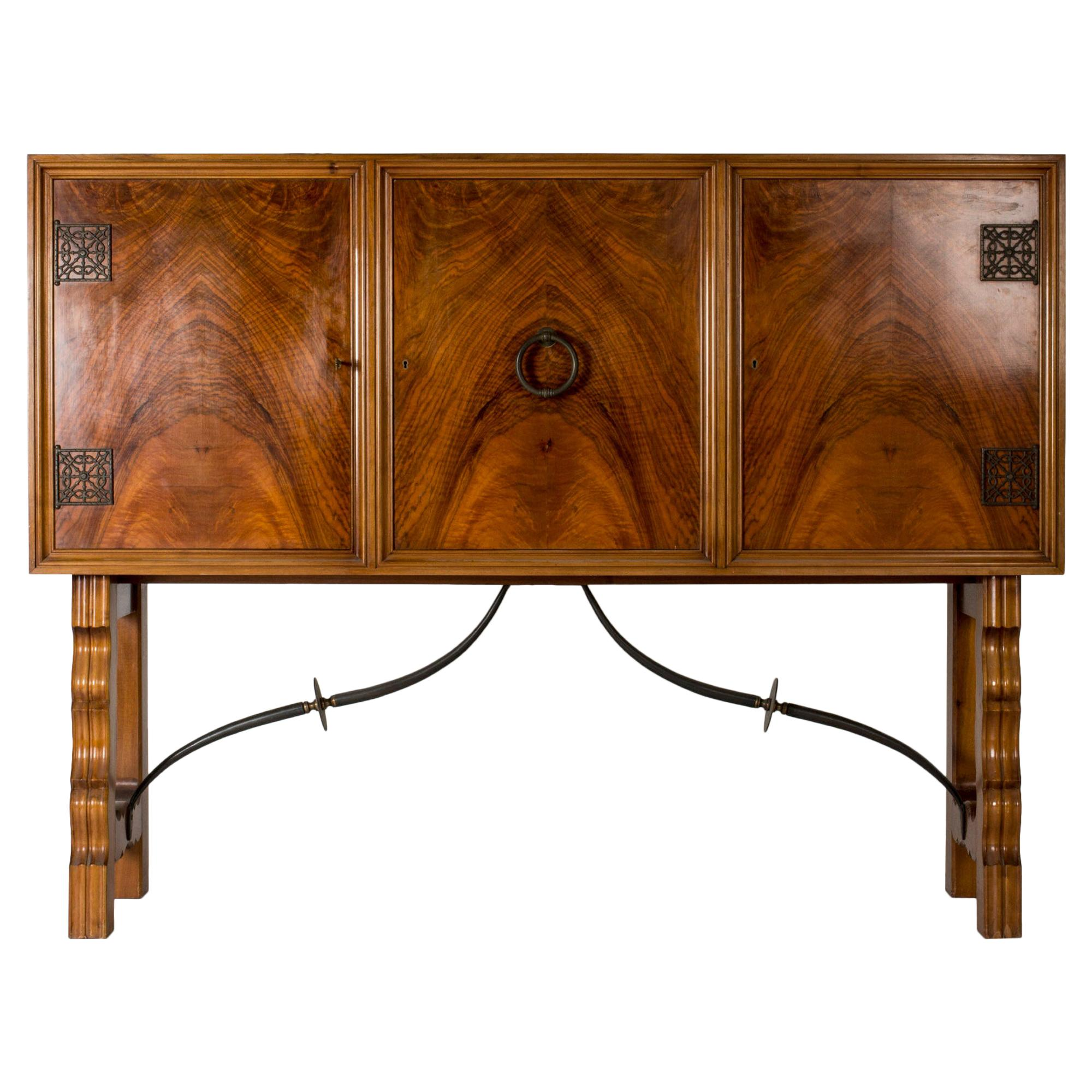1930s Mahogany Cabinet by Otto Schulz
