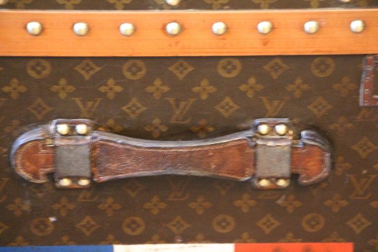 1930s Monogram Louis Vuitton Trunk For Sale 5