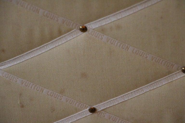1930s Monogram Louis Vuitton Trunk For Sale 10