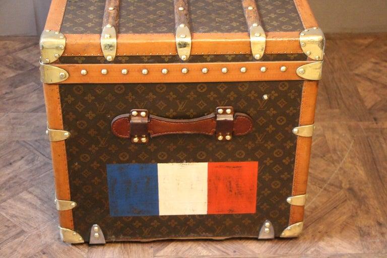 1930s Monogram Louis Vuitton Trunk For Sale 1