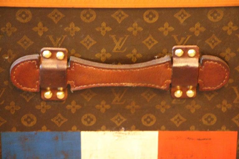 1930s Monogram Louis Vuitton Trunk For Sale 2