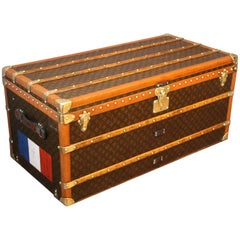 1930s Monogram Louis Vuitton Trunk