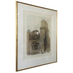 1930s New York Stock Exchange Print
