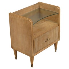 1930s Nightstand Art Deco, Gio Ponti Style, Made by Canale Mobili d'Arte Padova