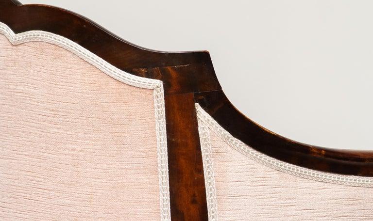 1930s Pair Scandinavian Velvet Art Nouveau Easy / Armchairs after Fritz Hennings 7