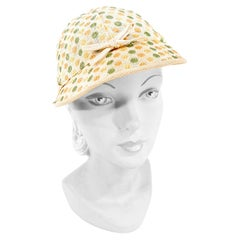1930s Polka-Dot Sports Hat