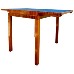 1930s Rosewood Game Table in the Style of Lajos Kozma